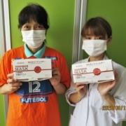 『アル美健康プロジェクト』を通してマスクを寄付していただきました